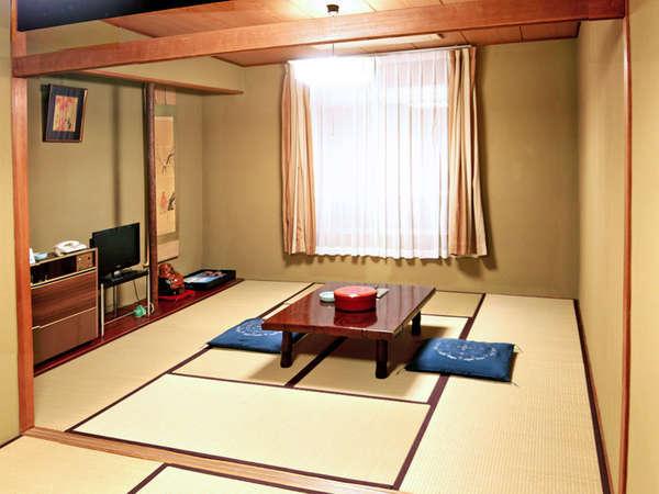トイレ付き和室(バス付きのお部屋をご希望の方はお問合せください。)