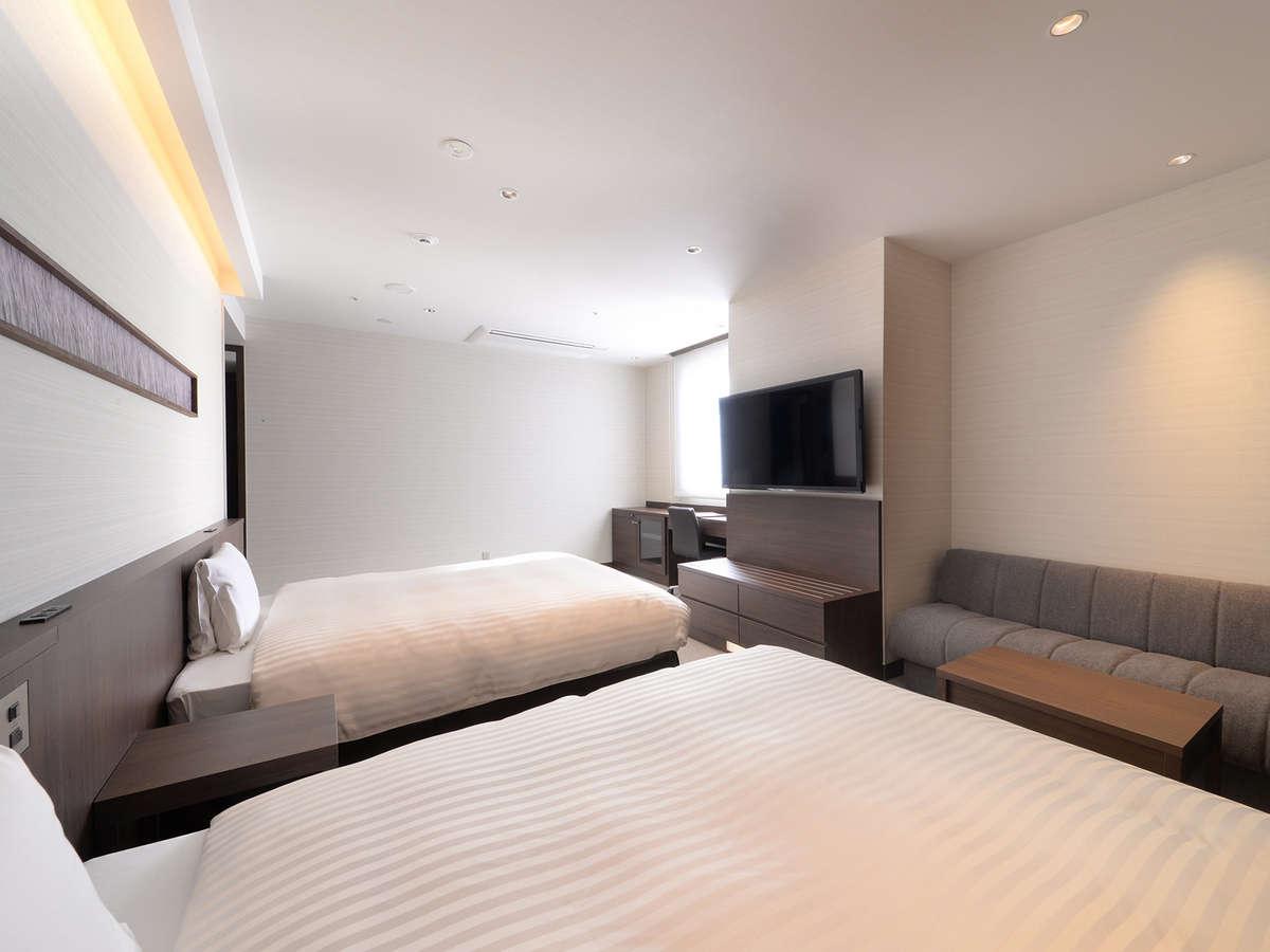 デラックスツインルーム(ベッド2台)