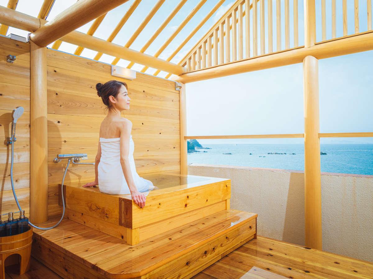 2月中旬頃利用開始予定!屋上貸切露天風呂からは瀬戸内海を一望
