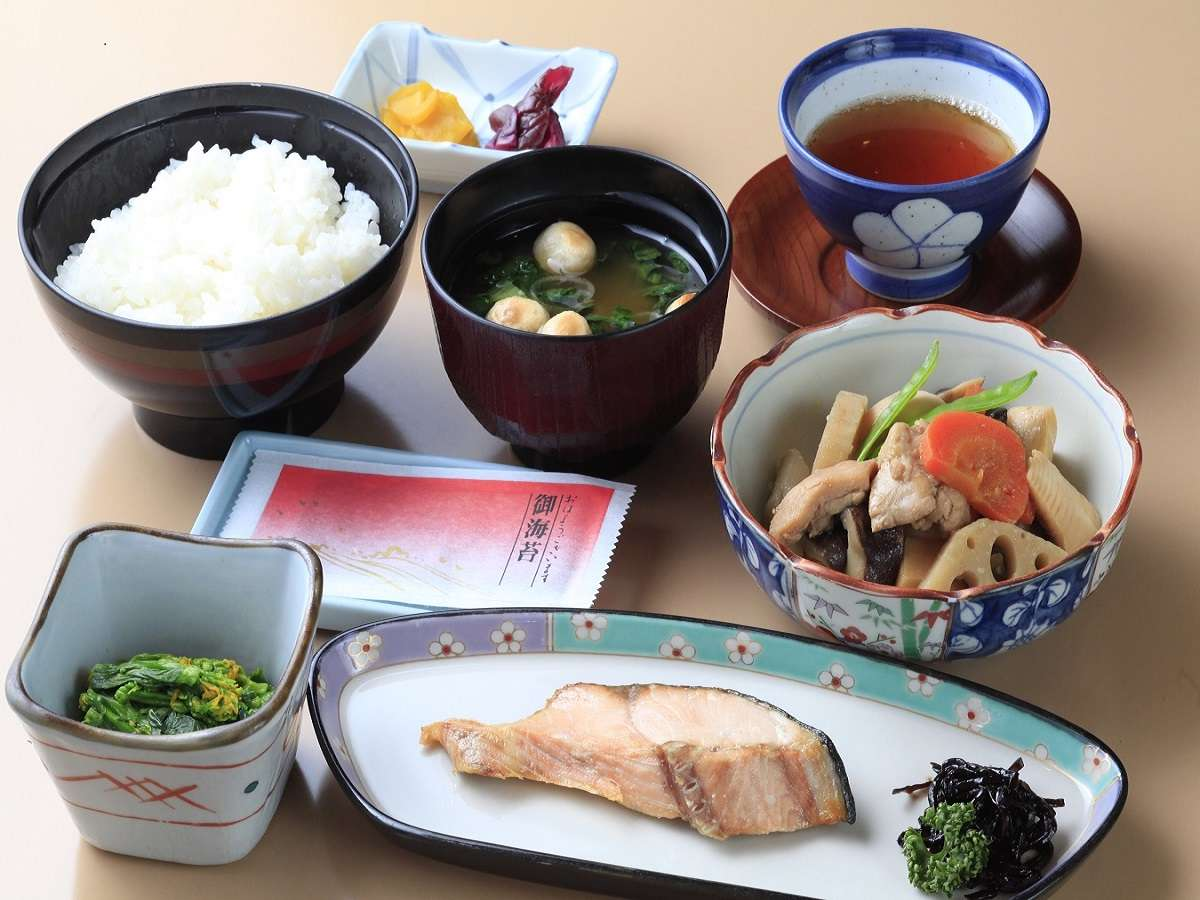 [和定食]新潟のコシヒカリを炊いたご飯をお召し上がりください。(現在レストランは休業しております)