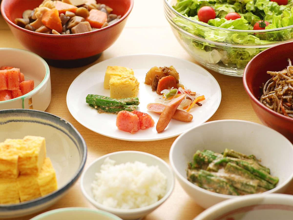南房総の食材をメインにした和朝食