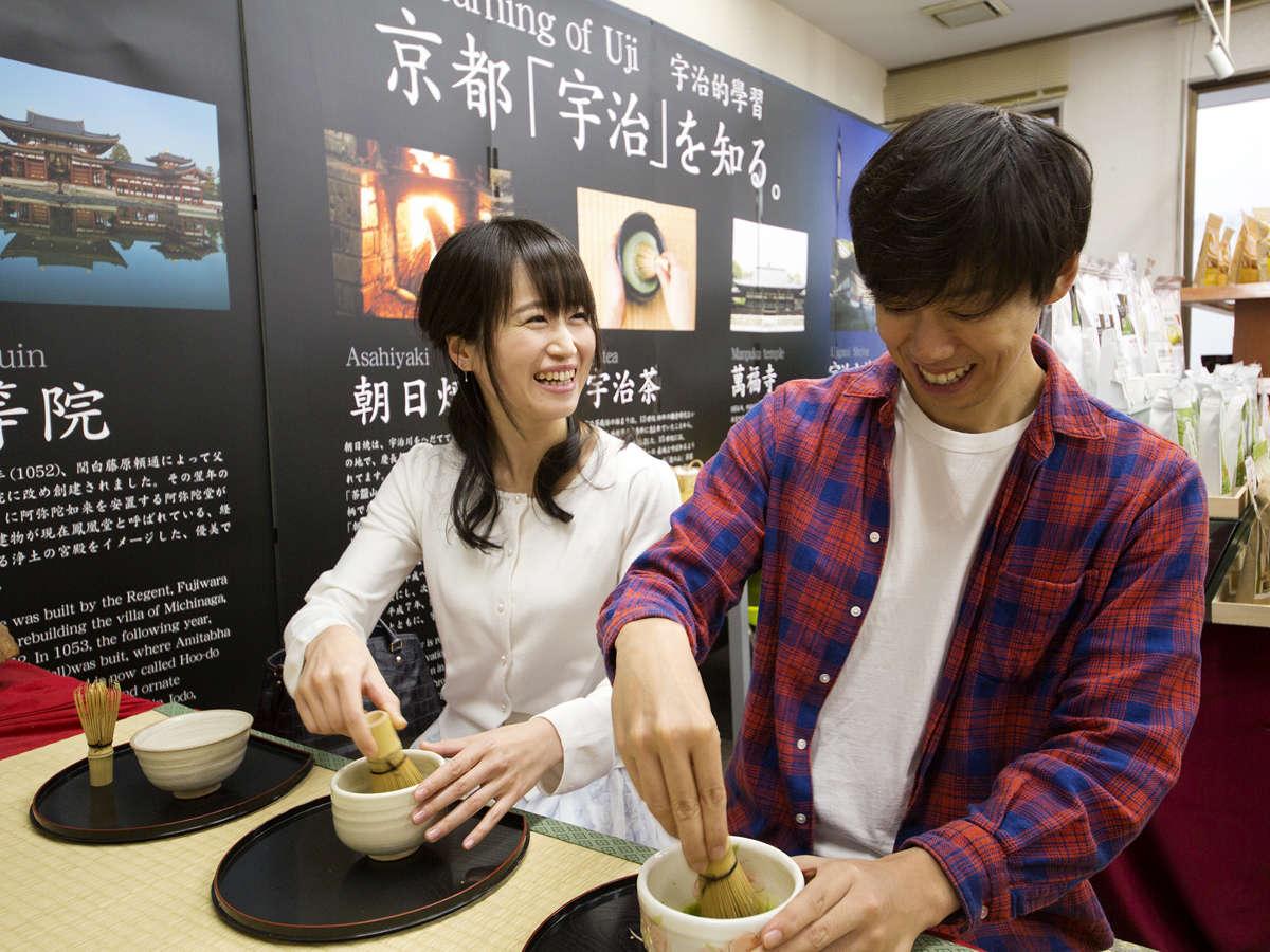 京都の代名詞【抹茶】。宇治橋通商店街では「抹茶体験」や「抹茶のお土産」が購入できます♪