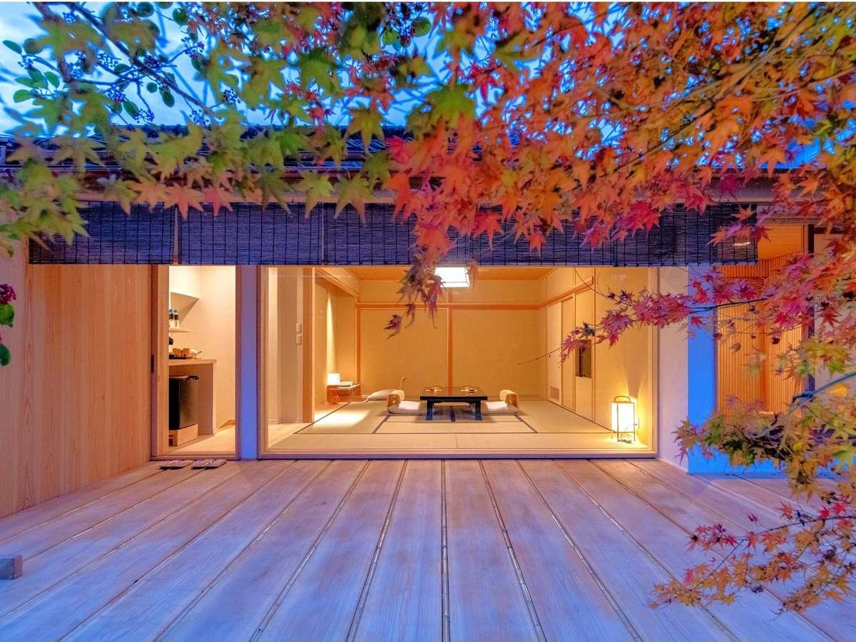 【水明荘】白竜:2019年11月リノベーションの、水明荘でのひとときを心ゆくまで愉しむ新客室。