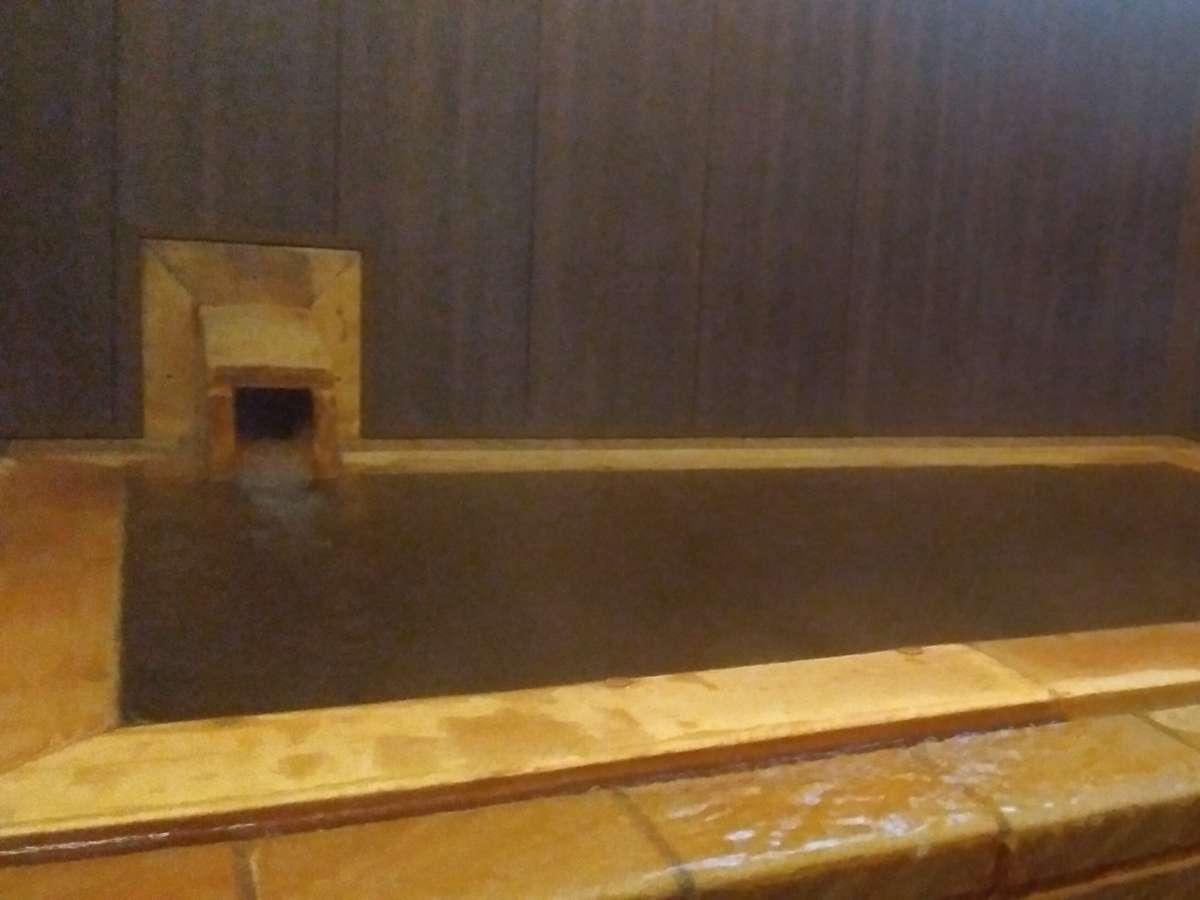 源泉かけ流しの個室温泉
