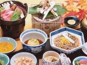 秋の季節限定メニュー♪松茸の芳醇な香りを、存分に味わってください☆