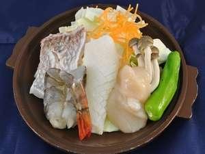 メイン料理をチョイスできるプランの海鮮。お肉が苦手な方もチョイスプランでお選び頂けます