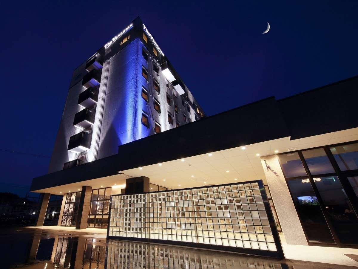 『ザ・べネシアン』ブランドのホテル棟(正面入口)