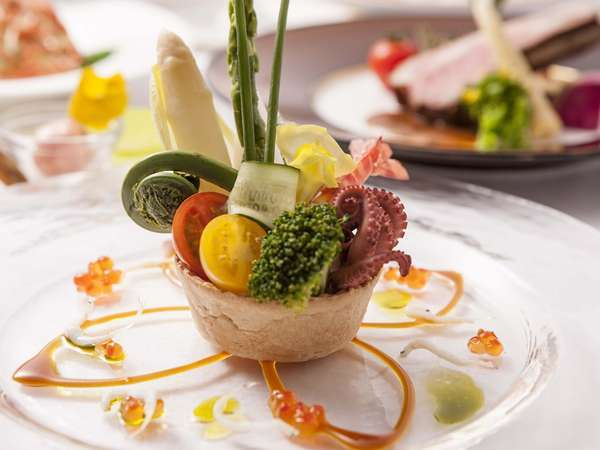 【食事/夕食】フレンチ一例
