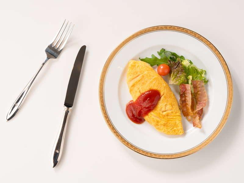 朝食バイキング「オムレツ」
