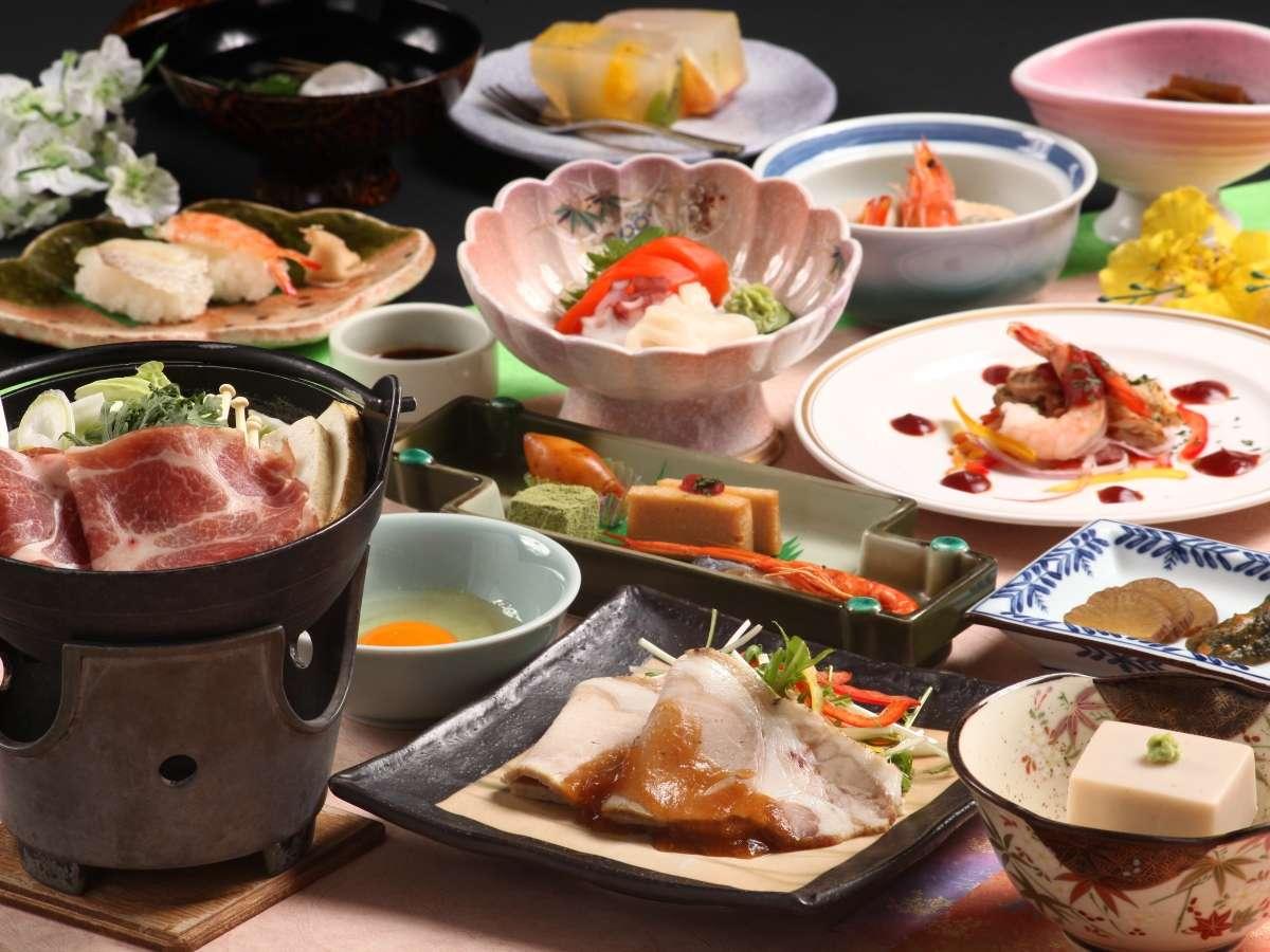 ◇お料理は郷土色豊かな献立をご用意しております。※写真はイメージです