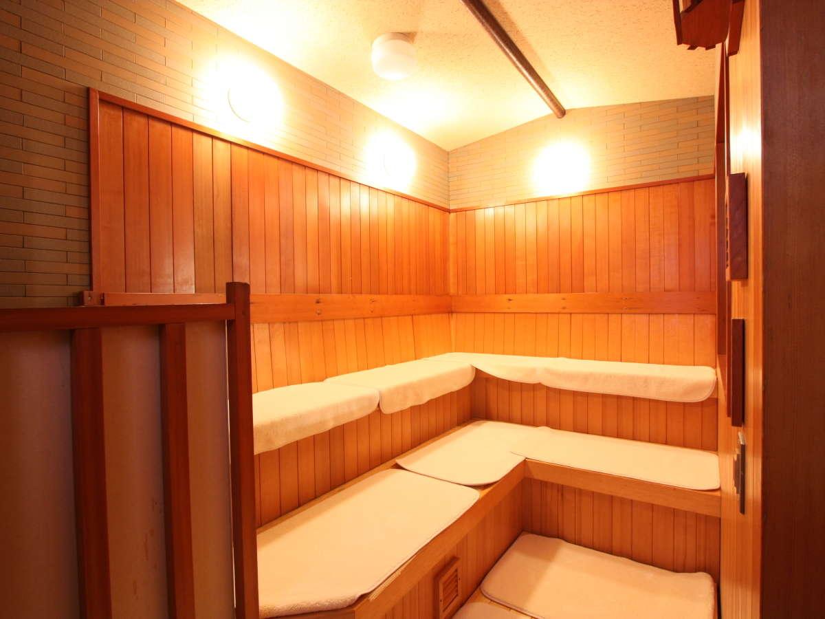 男性大浴場高温サウナ
