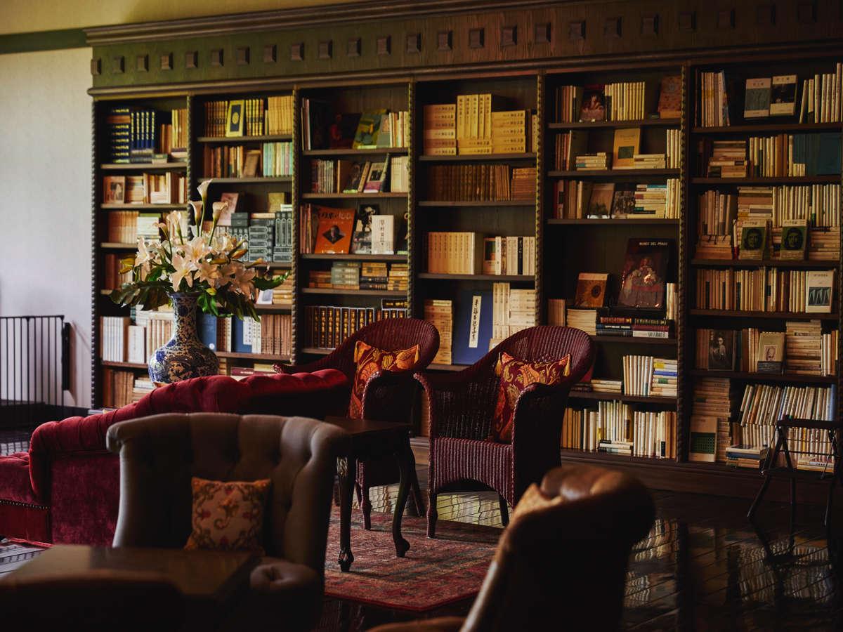 蔵書Lounge&Bar◆文学と深い関わりのある蓼科 親湯温泉