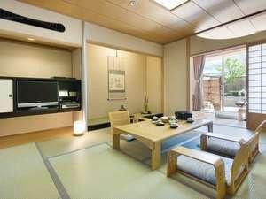 【露天風呂付き】開放感あふれる 7階松風楼 露天風呂付客室