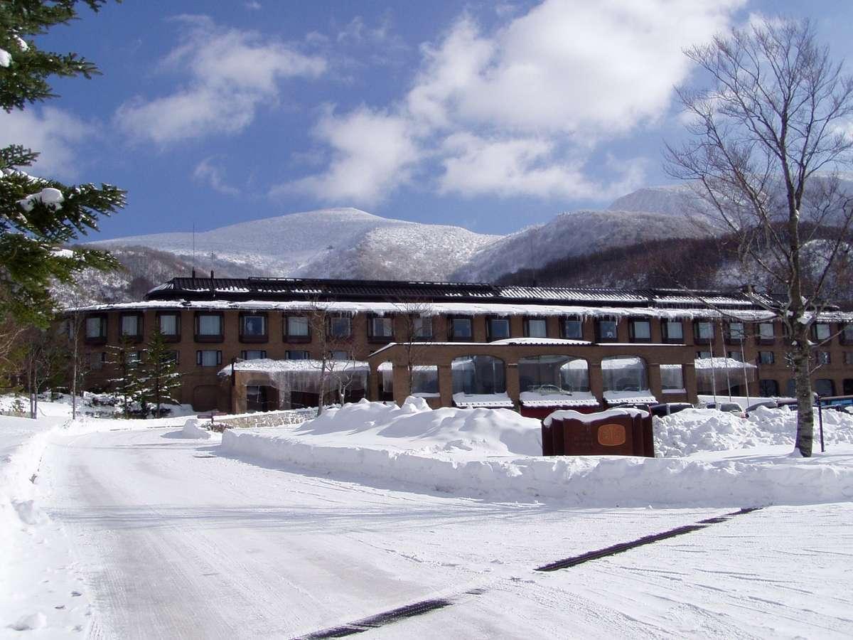 冬ホテル外観