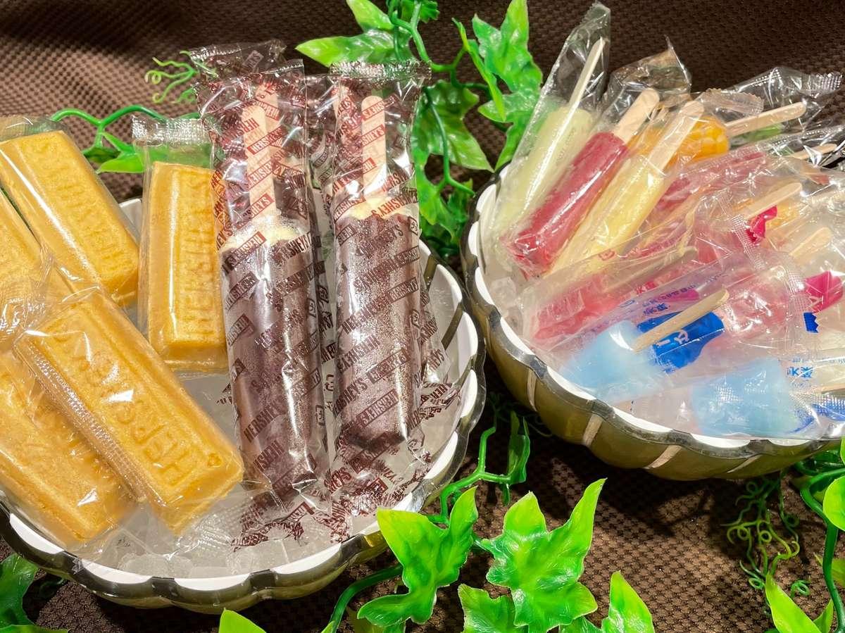 ◆無料アイスキャンデーサービス 11階にて 15:00-25:00