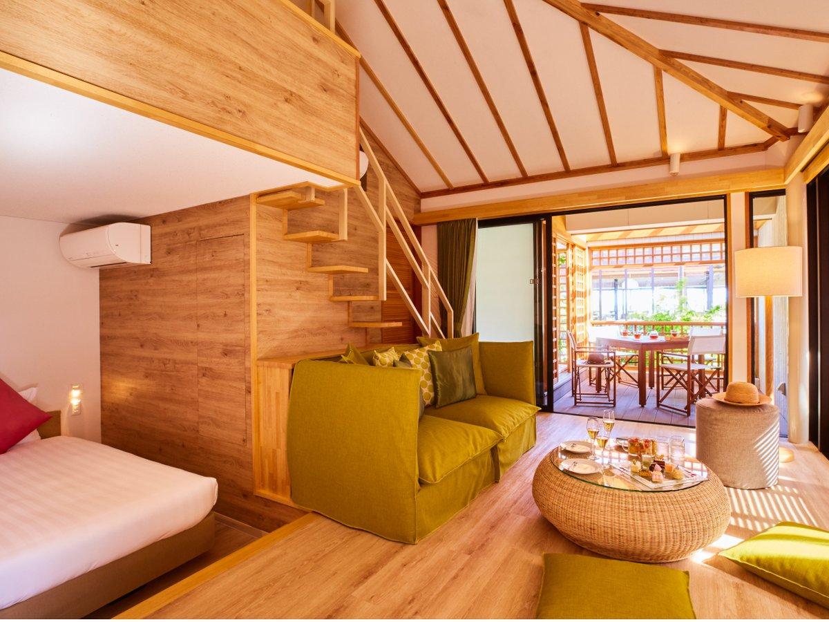 客室一例/モダンでカジュアルなファニチャーが光る遊び心いっぱいの客室。