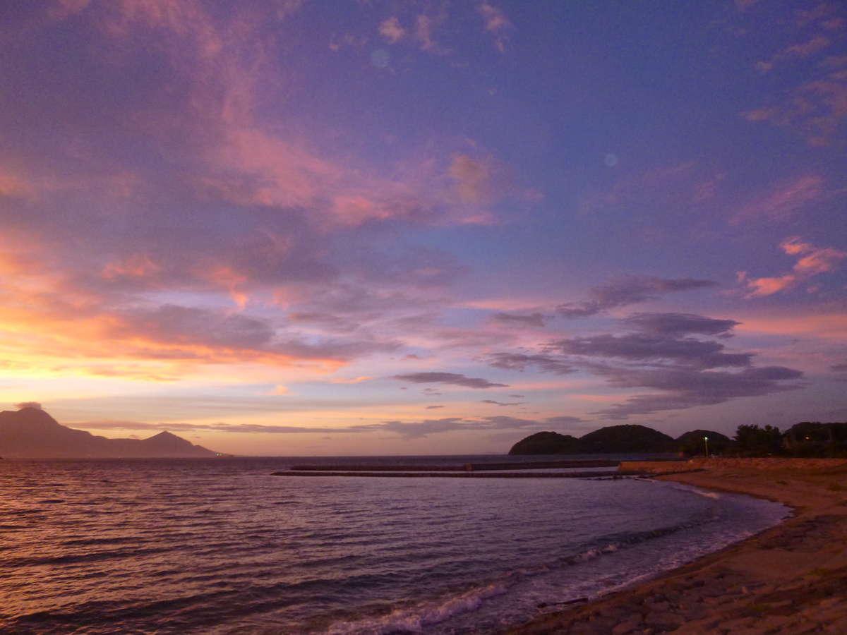 弓ヶ浜海岸からの景色