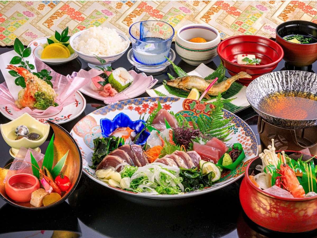 皿鉢風会席料理