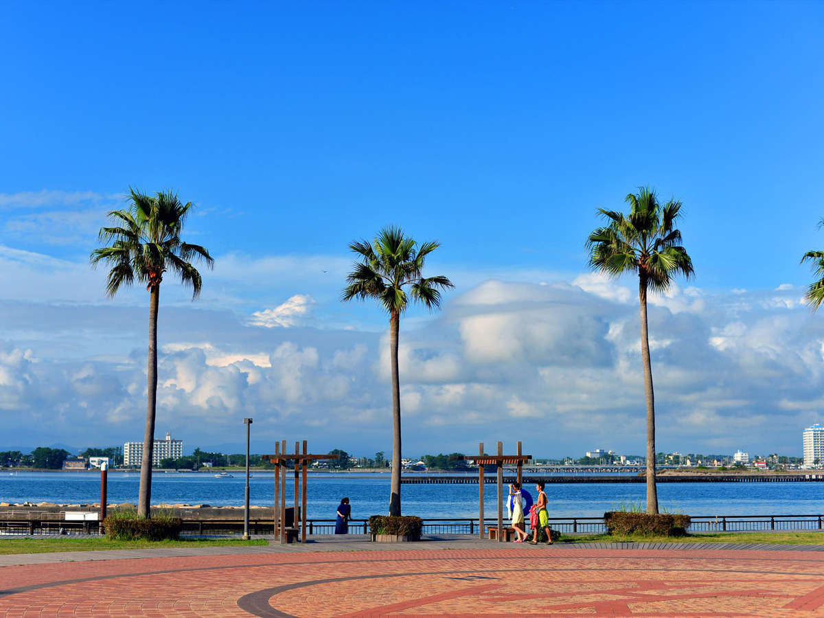 *周辺/北側は浜名湖、南側には太平洋が面しています。サイクリングがおすすめです!