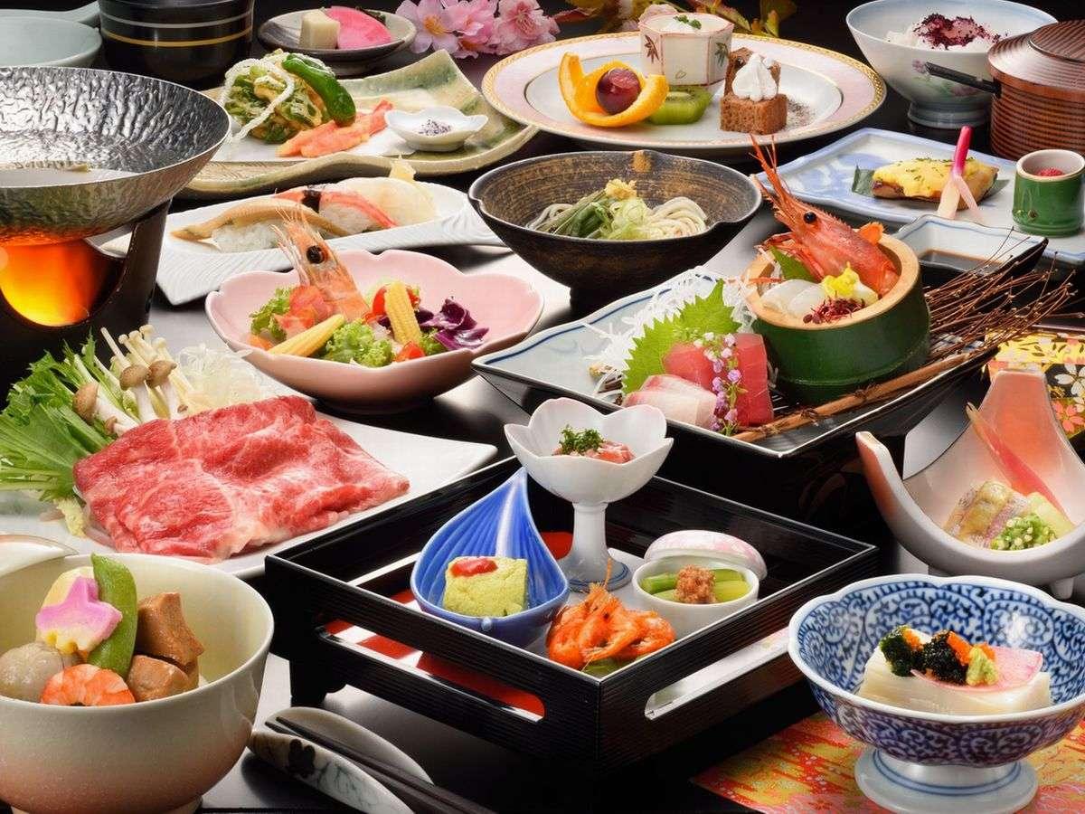 口コミ高評価の和会席料理【スタンダードプラン一例】