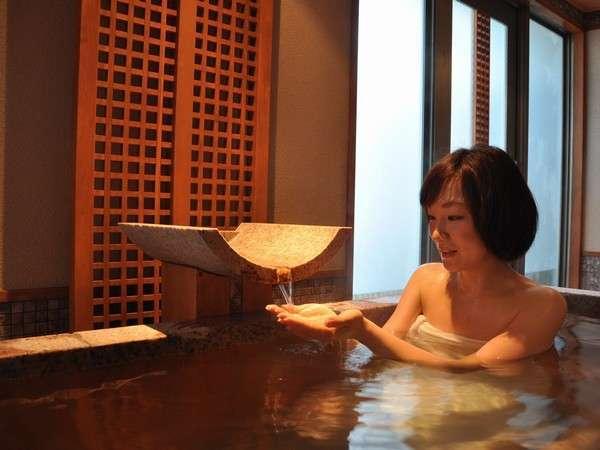 貸切風呂『碧の湯』はデザイナーズ貸切風呂です(^O^)ご宿泊のお客様は空いていれば自由に入れます。