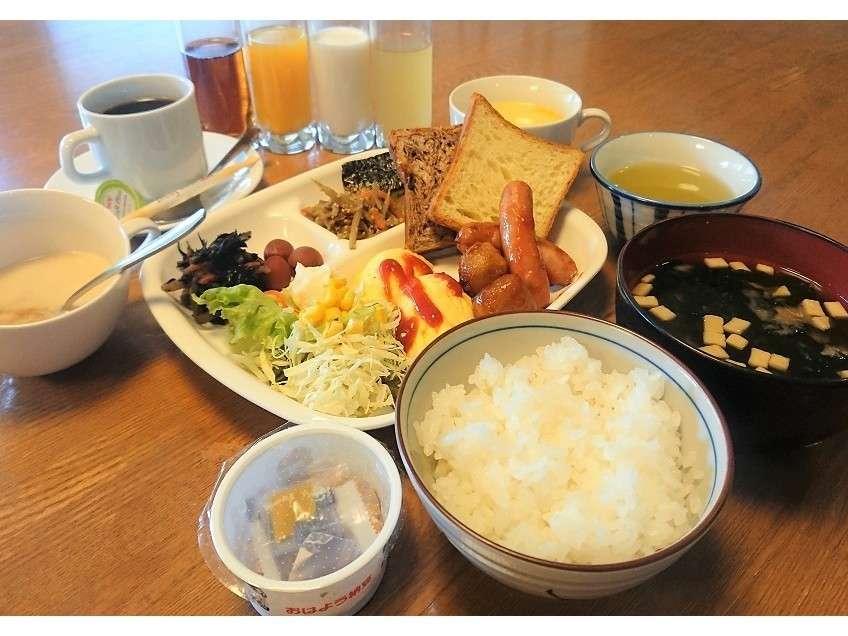 朝食無料サービス【和洋例】