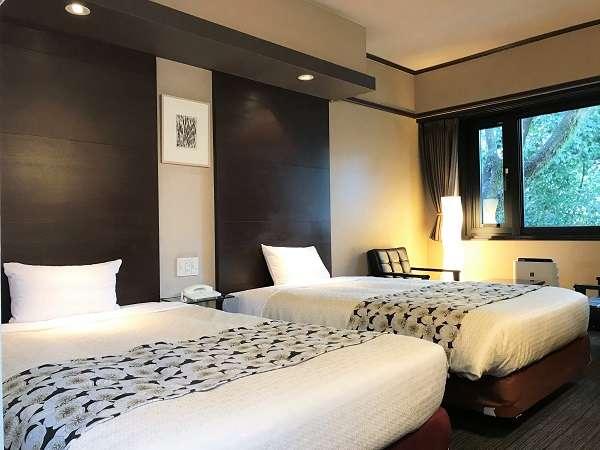 【ツインルーム・23平米】全室に空気清浄機を設置しております。