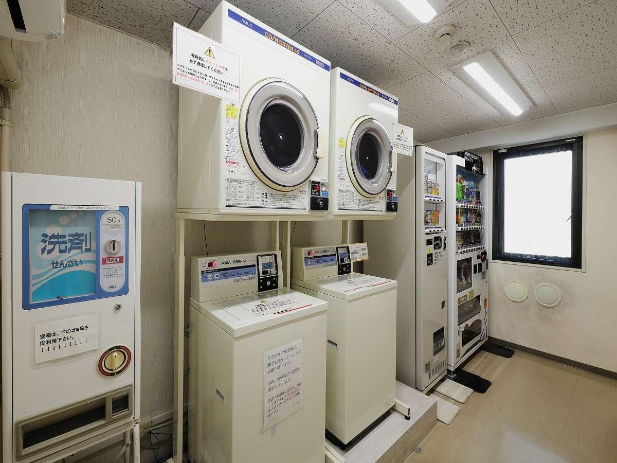 コインランドリーは6F自販機室に設置しております。