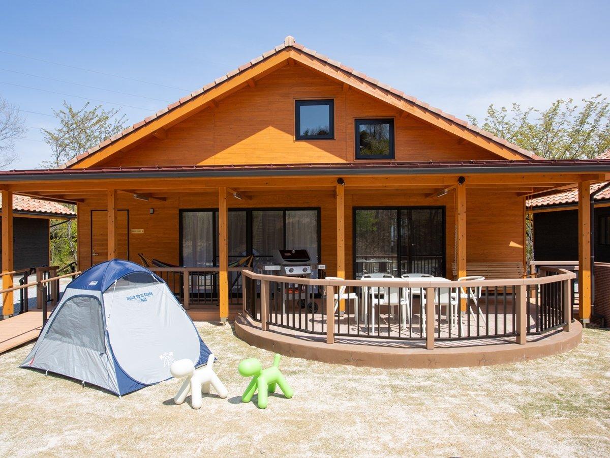 *【グランキャビン】2021年4月新設!もっと気軽に、もっと上質なキャンプをお楽しみいただけます。