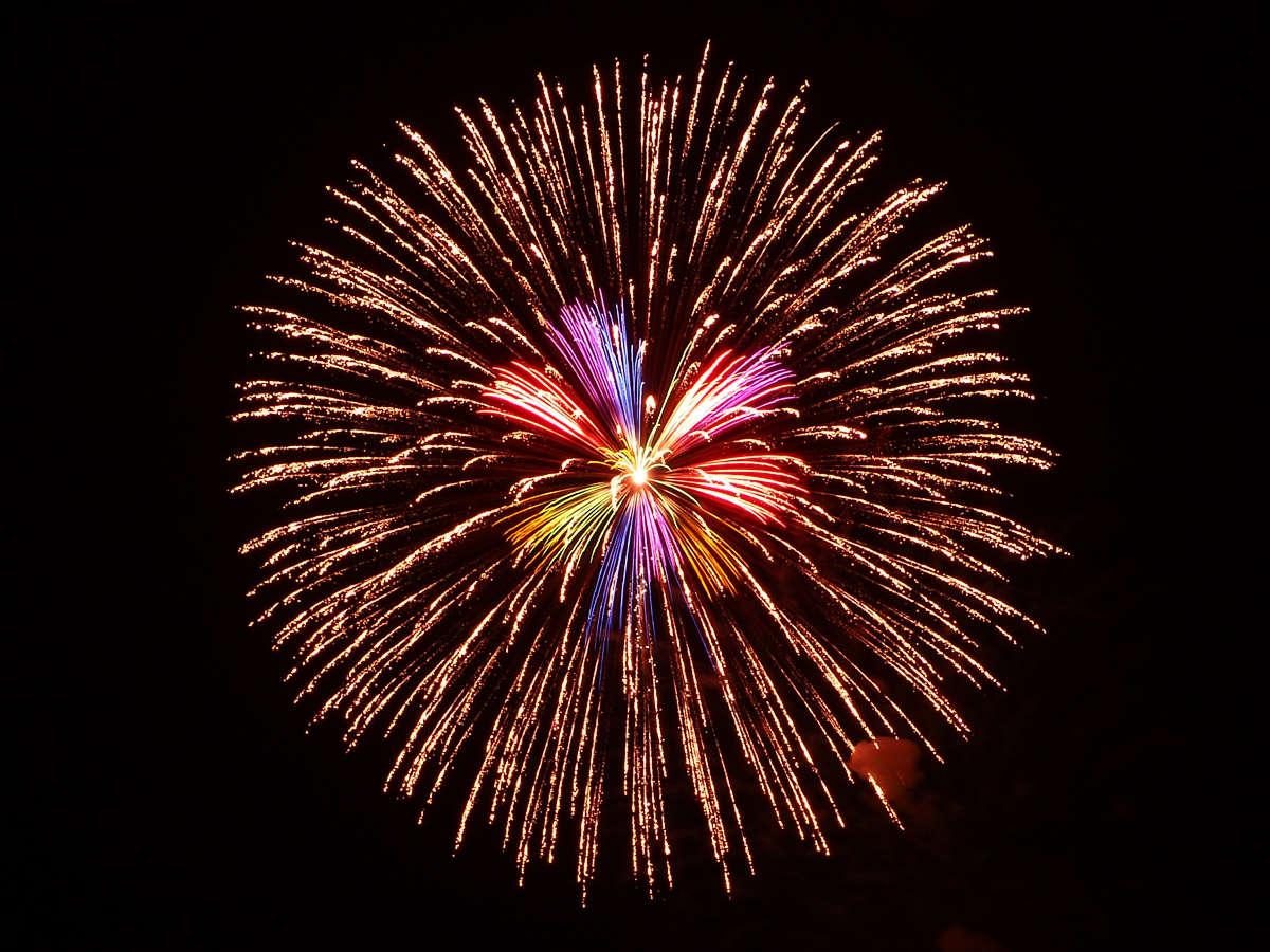 白浜花火大会開催♪※写真はイメージです。