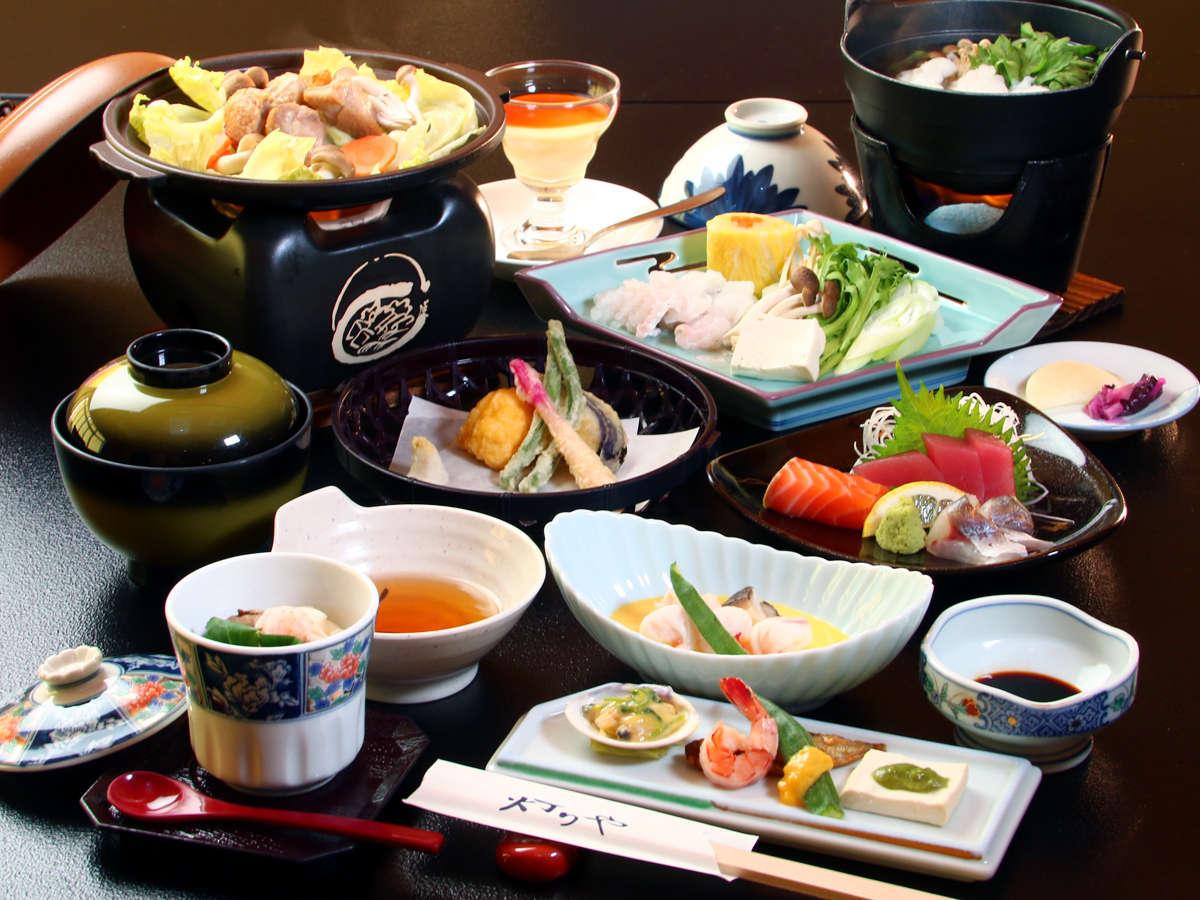 季節の旬食材を中心に清魂込めて創る『和風創作料理』(季節、仕入れ状況により異なります。)