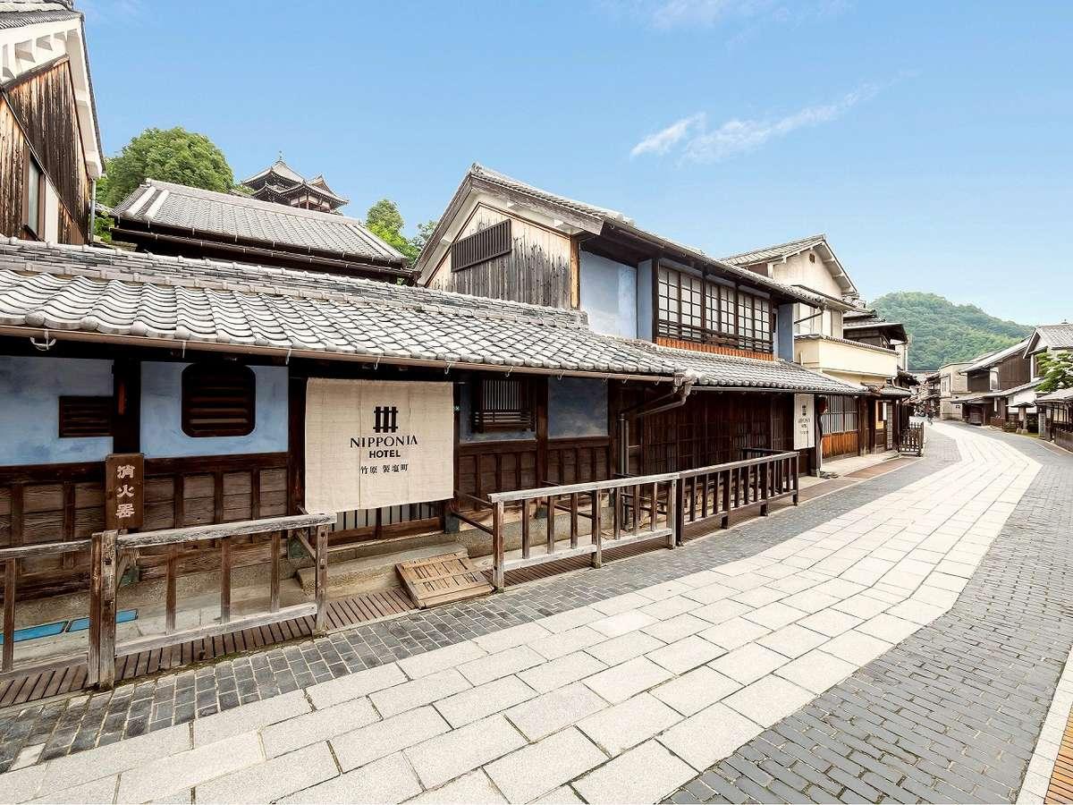 「旧芸備銀行(現広島銀行)」として明治期に建てられた後、「旧水儀旅館」として営業していたMOSO棟。
