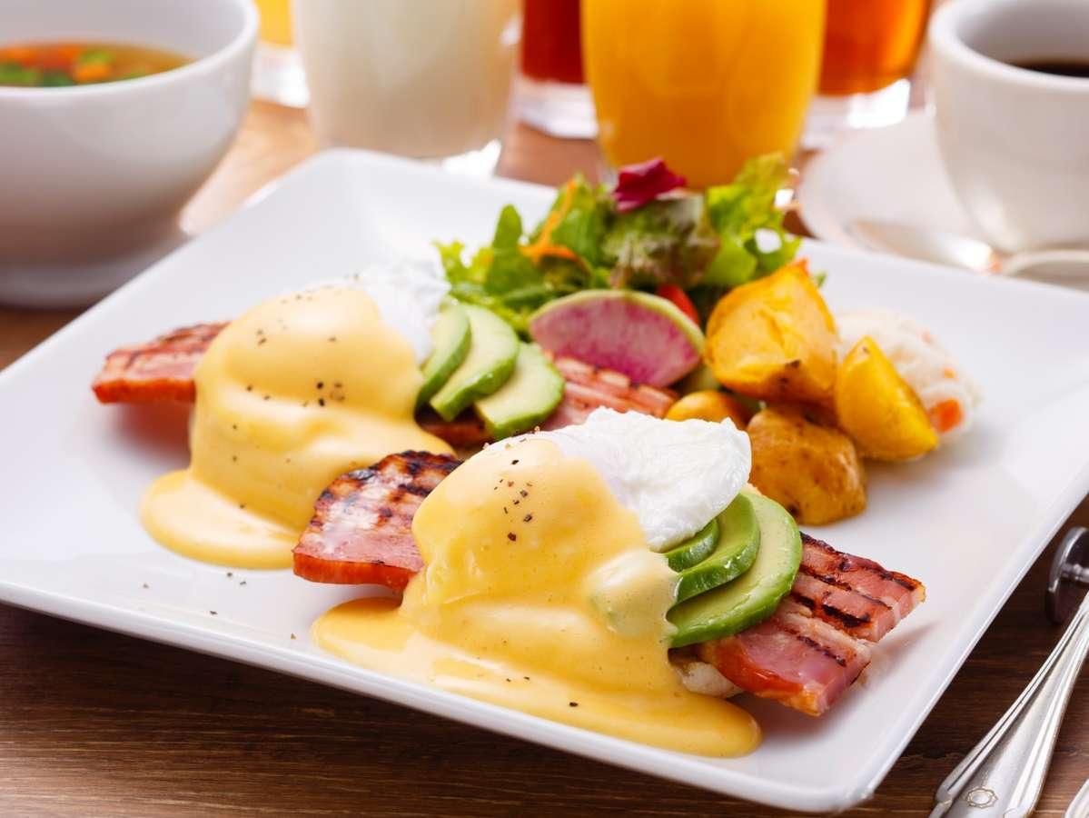 TVでも紹介されたレストランの美味しい朝食で素敵な一日の始まりを。