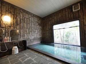 【男性大浴場】ラジウム人工温泉利用時間15:00~2:00・5:00~10:00まで入浴可能