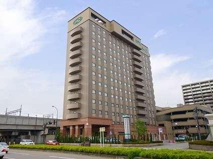 金沢駅東口より徒歩約5分!男女とも展望大浴場有り&バイキング朝食無料サービスで人気のホテル♪
