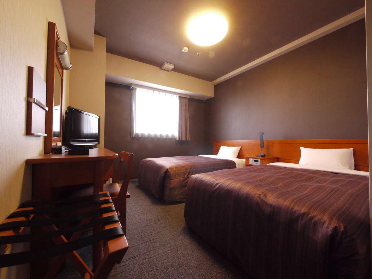 ツインルーム:一部客室2020年冬に改装済みです♪