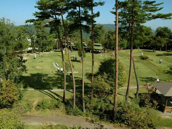 2コース16ホールのグラウンドゴルフ場☆