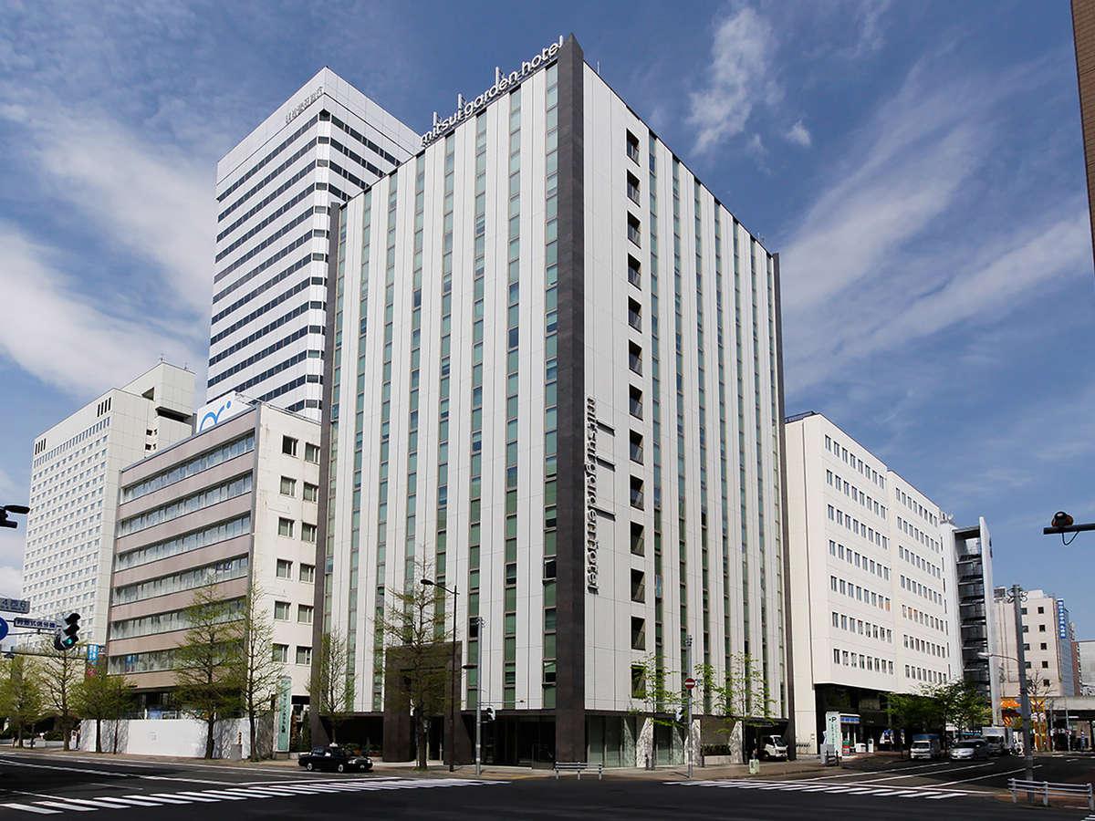 三井ガーデンホテル札幌外観