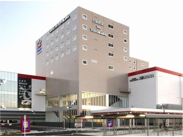豊川コロナワールドは様々な施設を含んだ複合施設です。