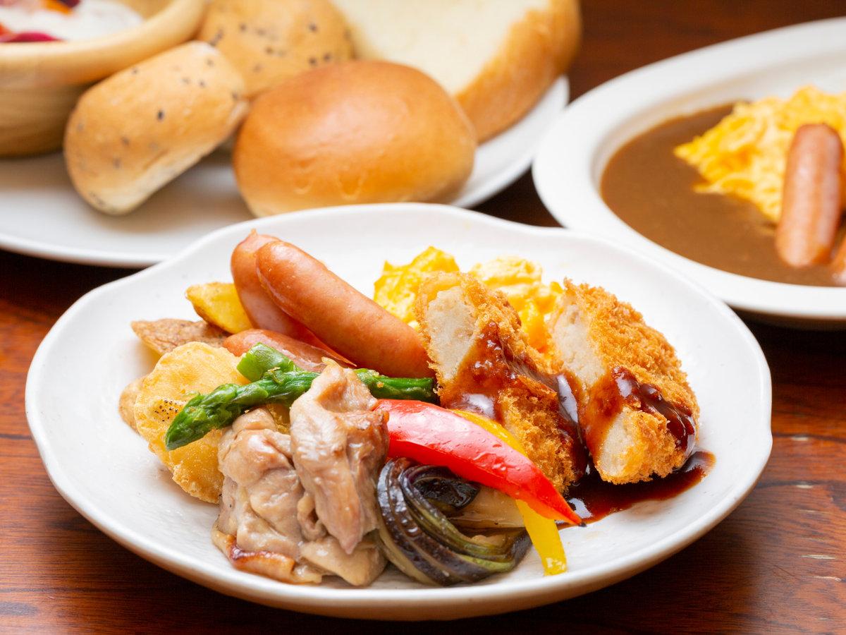 朝食「洋食例1」
