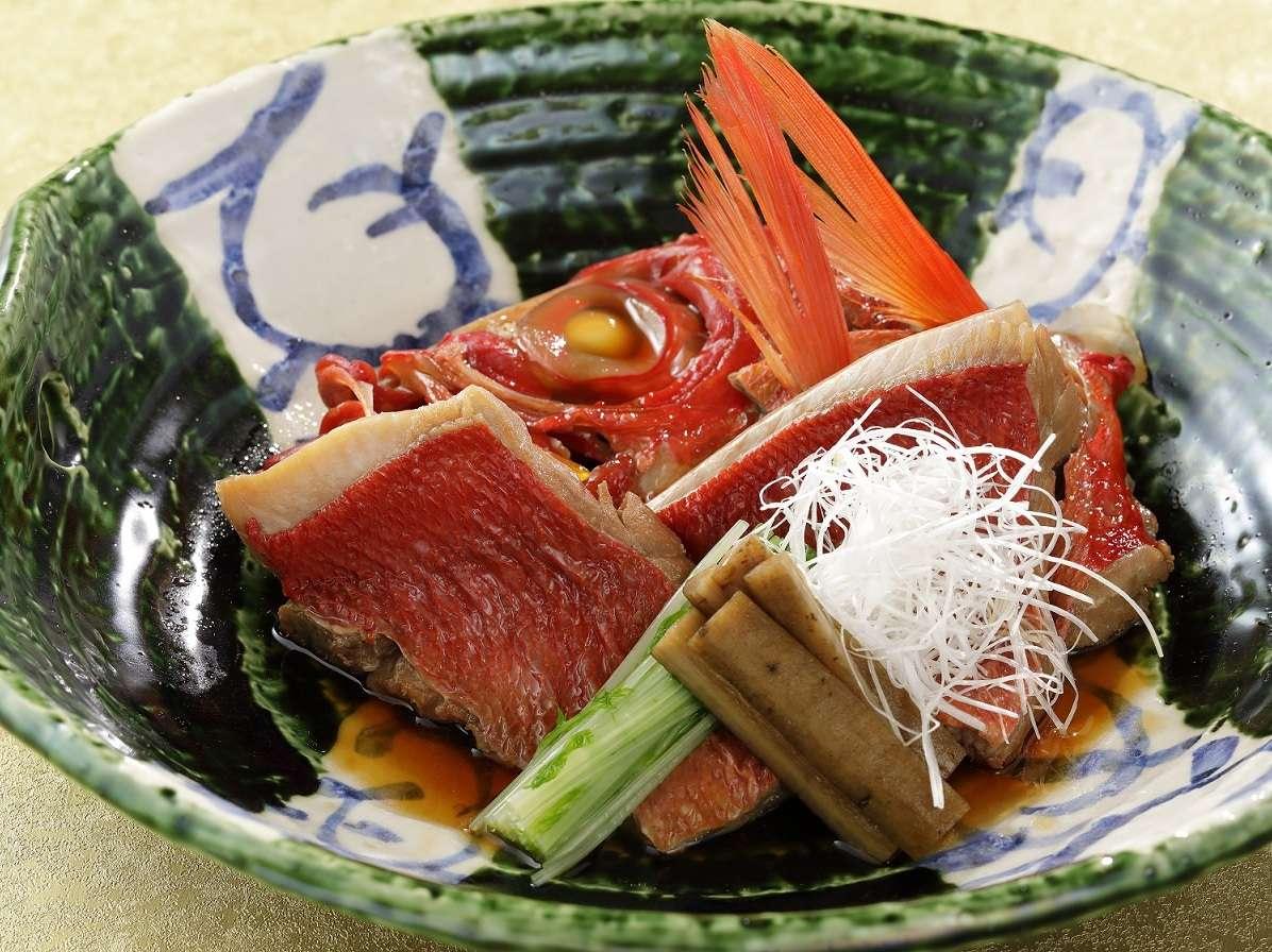 【特別料理】金目鯛煮付け ※画像はイメージです
