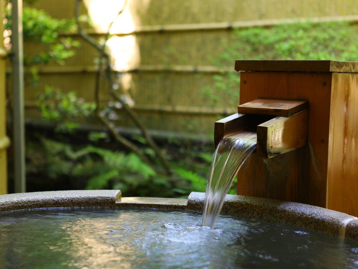 【本館】露天風呂付和洋室70平米(石風呂)※露天風呂は石風呂タイプ