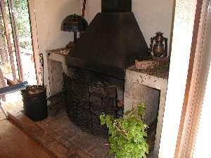リビング暖炉
