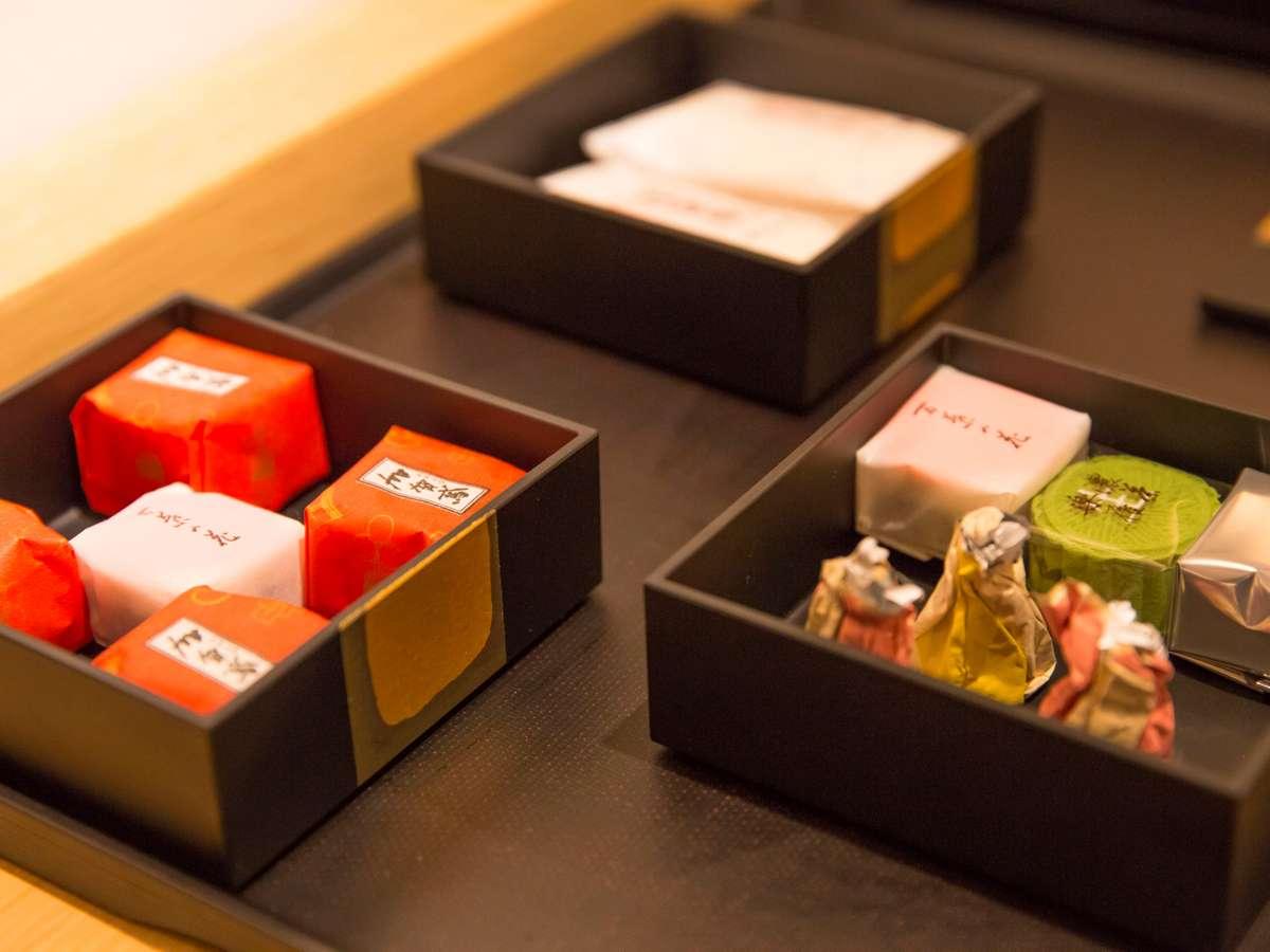 ◆ご宿泊者無料 金沢のお茶菓子◆