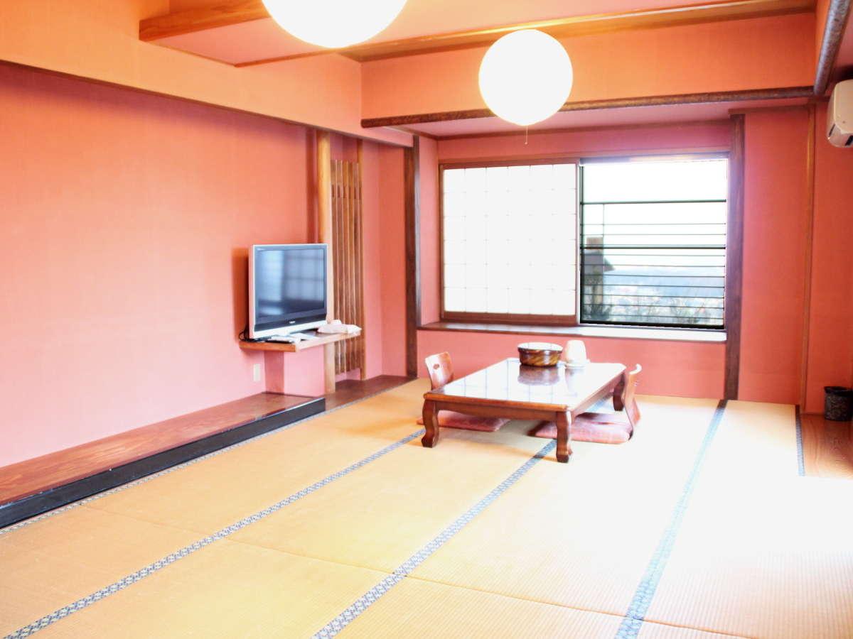 【客室】奈良大和の景色が一望!角部屋・スーペリア和室(16畳+踏込/36平米)