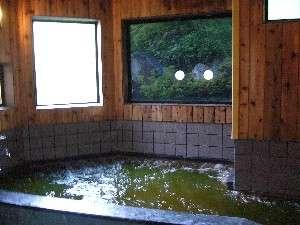 薬草風呂です。