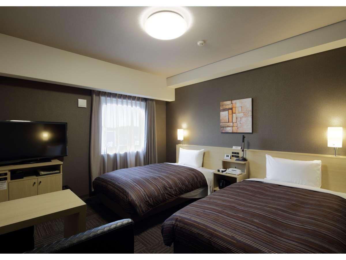 スタンダードツインルーム<ベッドサイズ110×200(cm) >