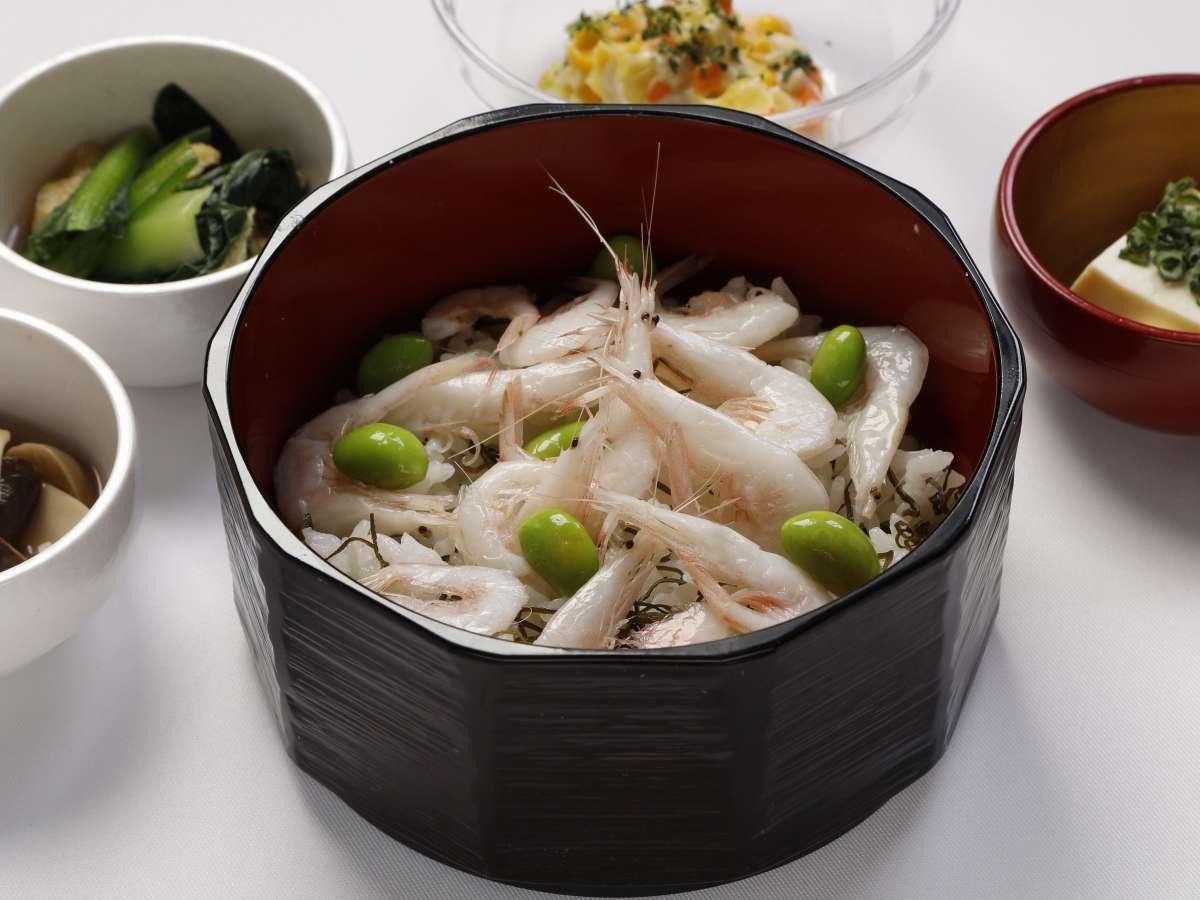 ■ご当地逸品料理「白エビご飯」(イメージ)