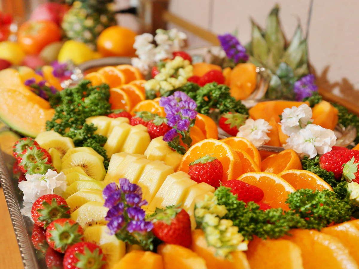 旬のフルーツブッフェ フルーツ好き集まれ!