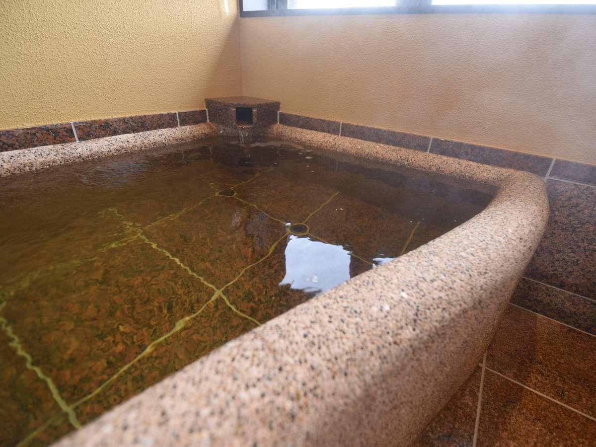 お市:お部屋風呂。見るだけで入りたくなる…癒しのお風呂をお何度でもお好きな時間にお楽しみください。